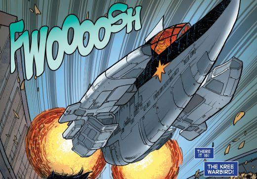 Star-Lord #1 Spaceship