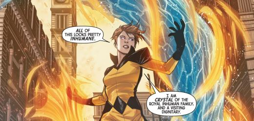 All-New Inhumans #1 Crystal