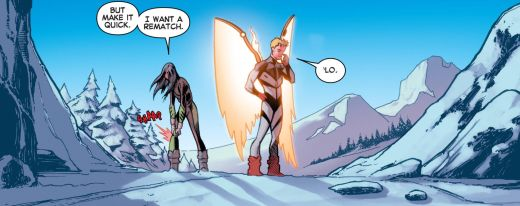 All-New X-Men #1 Skiing