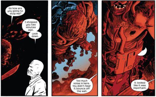 Comics Writer Warren Ellis Moon Knight #1
