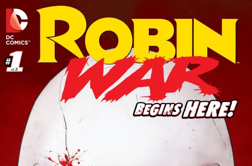 Robin War #1 Cover
