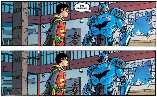 Robin War #1 Damian Wayne