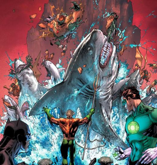 Aquaman - Fucking Sharks