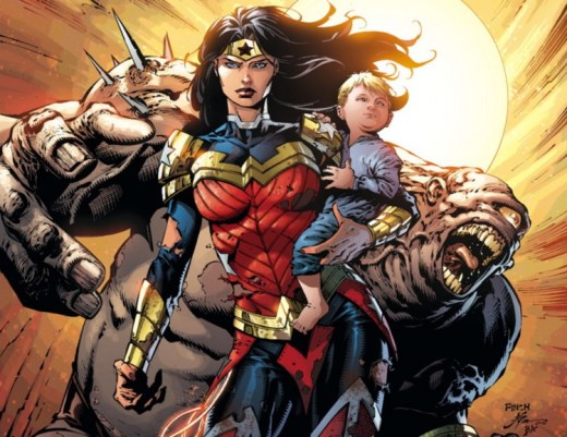 Leading Questions - David Finch Wonder Woman