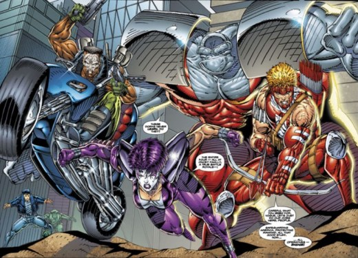Leading Questions - Rob Liefeld Youngblood