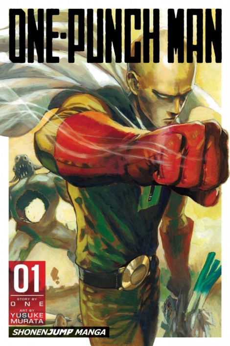Loser City Best Comics of 2015 One-Punch Man