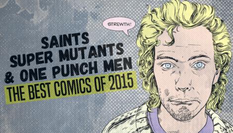 Loser City Best Comics of 2015 Title