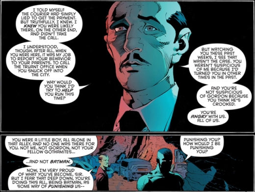 Batman Alfred's Speech