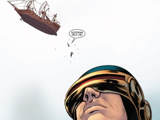 Extraordinary X-Men #7 Cyclops Face