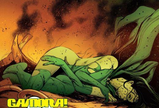 Gamora Sexy Violence