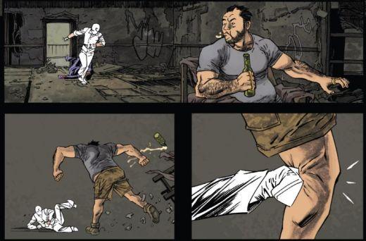 Moon Knight Declan Shalvey Violence