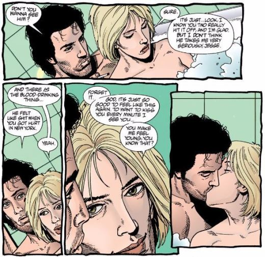 Preacher Love in a Bathtub