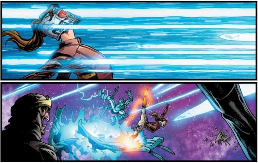 Starlord Kitty Pryde Violence