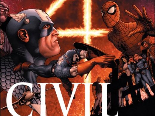 Civil War #1 Cover