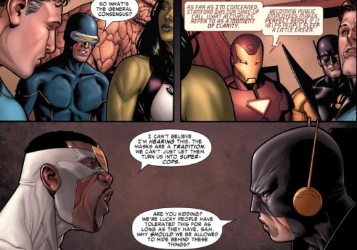 Civil War #1 Voices