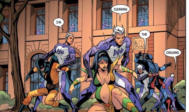 Avengers X Civilian Reader
