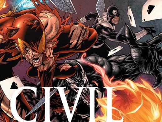 Civil War #5 Cover