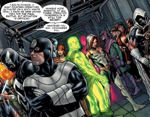 Civil War #5 Thunderbolts