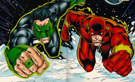 Wally-West-Kyle-Rayner-DC-Comics