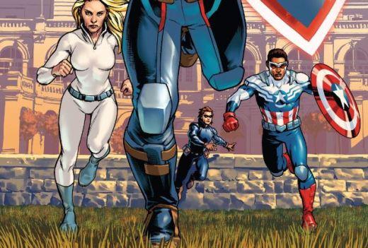 Captain America Steve Rogers Cover