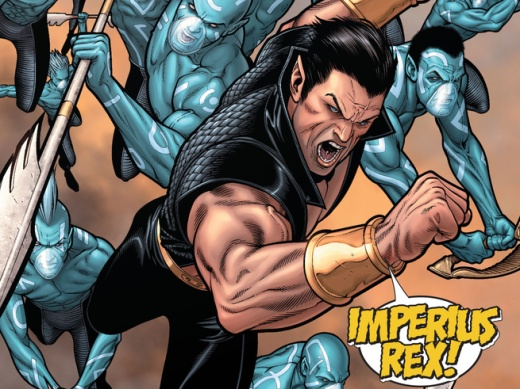 Civil War #7 Namor
