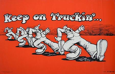 Robert-Crumb-Keep-On-Truckin