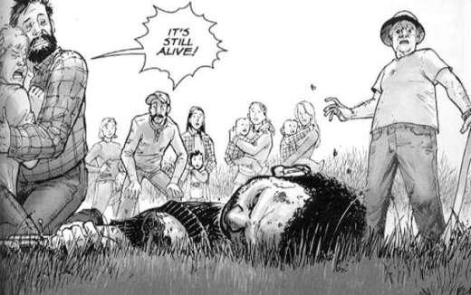 The Walking Dead Tony Moore Still Alive