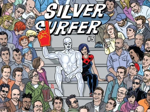 Silver Surfer #5 Cover