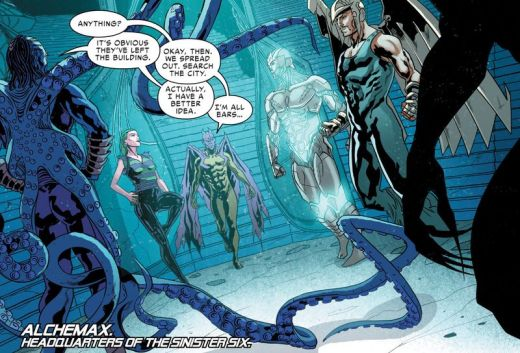 Spider-Man 2099 #11 Sinister Six