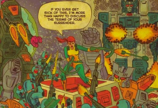 Transformers Vs GI Joe Scioli