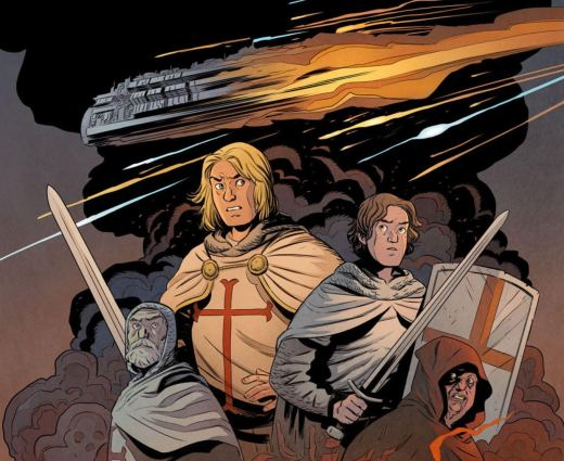 Lake of Fire #1 Cover