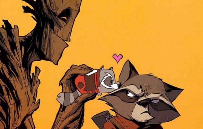 Obrazki forumowe i Avengersowe. - Page 6 Michael-walsh-rocket-raccoon-and-groot-188251