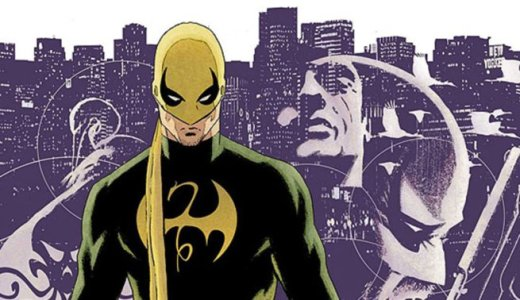 Iron Fist - Cover